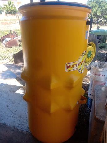 Depósito caldeira - água quente - solar