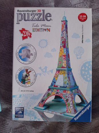 Puzzle 3D Wieża Eiffla Ravensburger