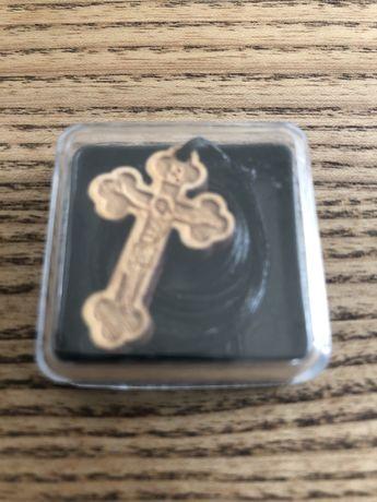 Деревяный крест на шнурке с Афона
