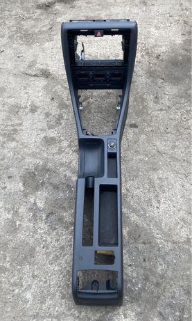 Tunel Srodkowy Czarny Ramka 2din Panel Klimatyzacji Audi A4 B6 B7
