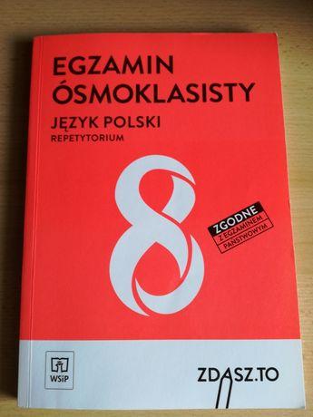 Egzamin ósmoklasisty język polski repetytorium wsip