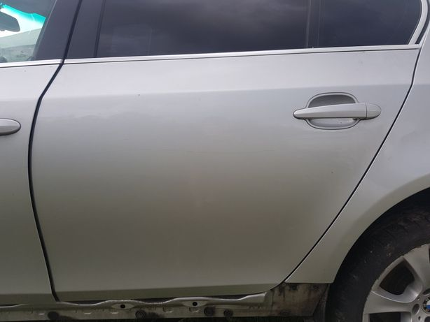 Drzwi BMW e60 lewy tyl Titan silber