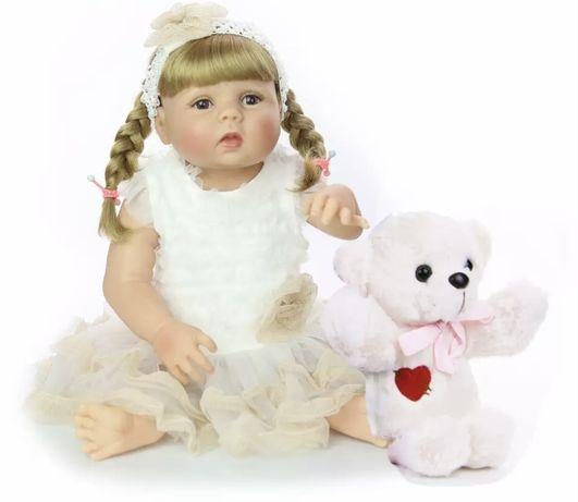 Реборн,  лялька,  кукла,  Reborn, повністю силіконова, подарунок,