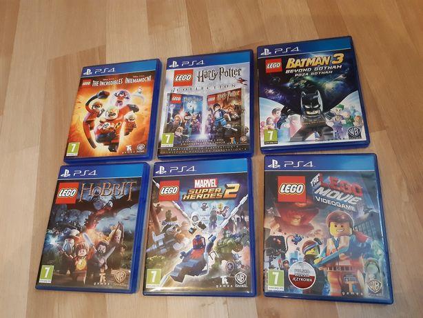 Sprzedam zestaw gier Lego PS4