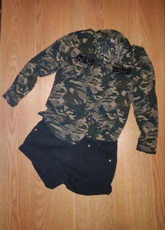 Рубашка камуфляж