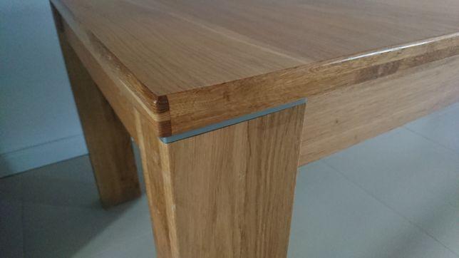 Stół dębowy 160/205/250x90x77cm rozkładany, olejowany