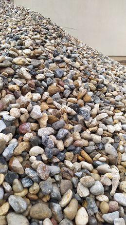 żwir płukany kolorowy otoczak kamień kruszywo 2-8mm 8-16mm