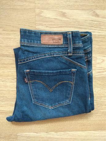 Spodnie jeansy jeansowe Levi's Levis 25 Demi Curve