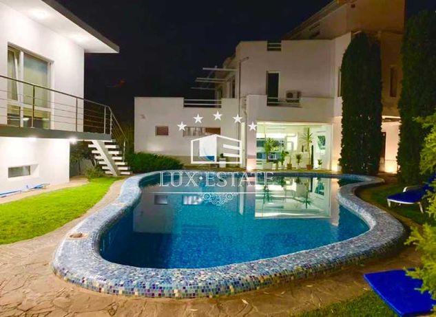 Аренда современного дома с бассейном в зеленом районе города!