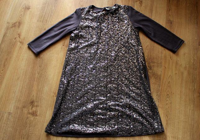 # LINCOLN & SHARKS # 5 10 15 Sukienka w Cekiny Rozm. 146 /152