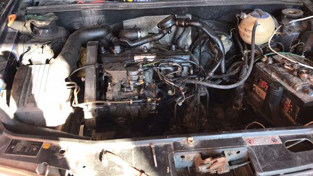 Golf 3 Golf 2 Passat b3, AAZ 1.9 тд двигатель, рейка,стойки, стартер