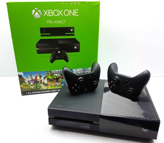 Konsola Xbox One 1TB (Model 1540) + 2xPAD