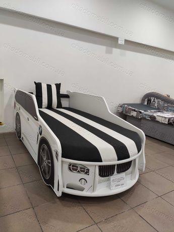 Дитяче Ліжко машина з матрасом \Детская кровать машина с матрасом БМВ