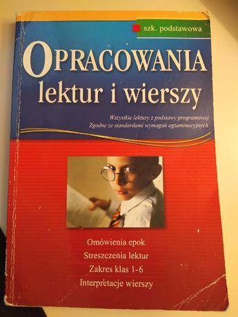 Opracowania lektur i wierszy, szk. podstawowa GREG 2004/2005