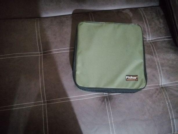 Fisher  сумка під 4 фідерні катушки