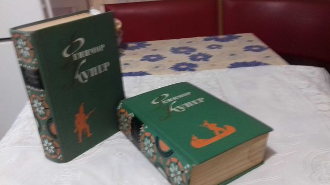 Книги 6 томов Фенимора Купера