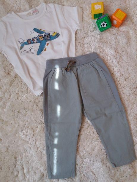 Spodnie spodenki Zara 92 stan idealny!