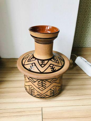 Керамическая ваза, глиняная ваза, СССР.