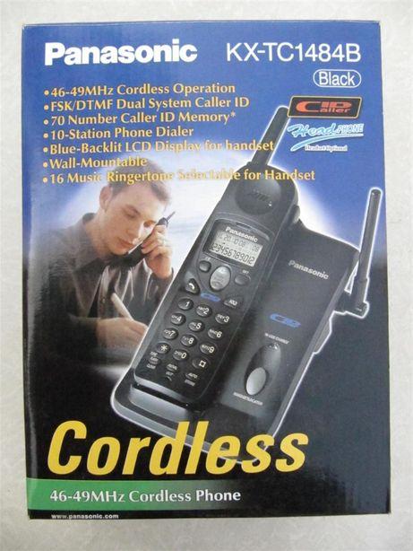 Радиотелефон Panasonic KX-TC1484B, Япония, новый, полный комплект.