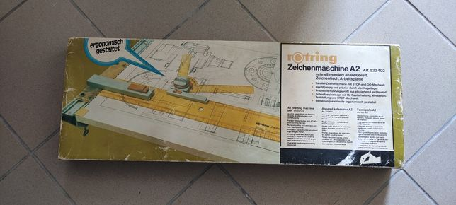 Régua para desenho técnico A2 Rotring