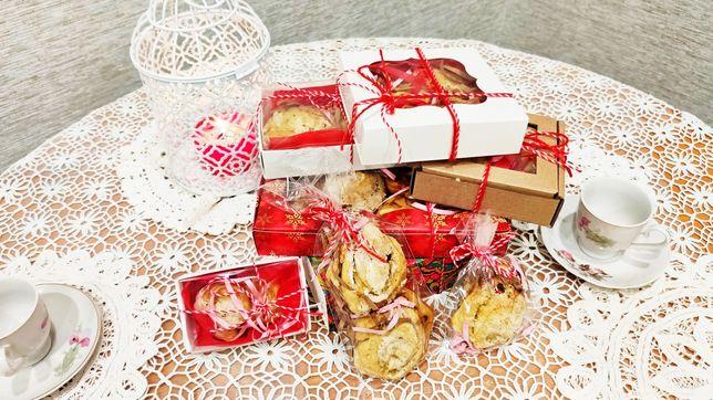 Праздничное печенье. Подарки. Домашняя выпечка. Кондитерские изделия.
