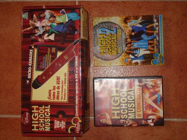 Karaoke High School Musical com DVD's