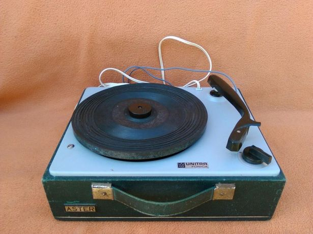 Gramofon Aster Unitra Fonica