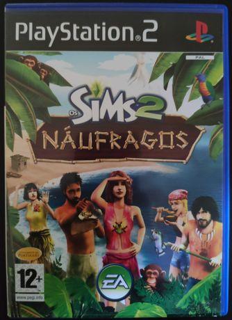 Sims 2 Náufragos PlayStation 2