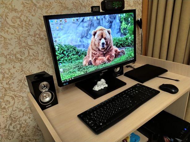 Продам мощный компьютер (системник+монитор+клавиатура+мышь)
