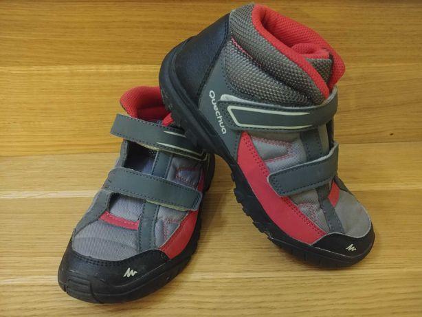 Jak nowe Quechua buty wiosenne dla dziewczynki sportowe trzewiki 32