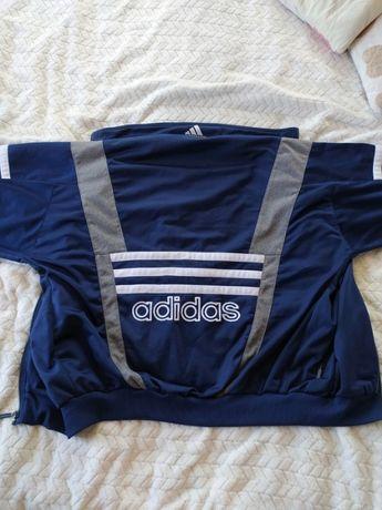 Vintage adidas retro 90's bluza rozpinana