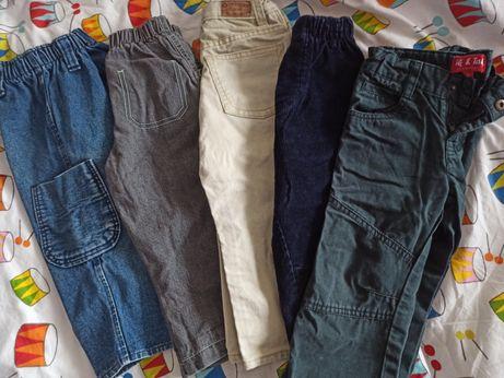 Пакет джинсов, штанов на мальчика на 1- 2 года