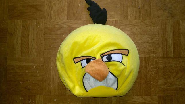 Duży pluszak żółty angry birds dla dzieci maskotka