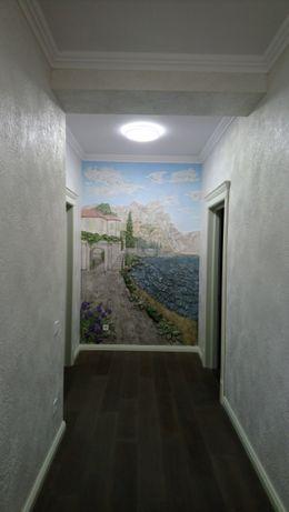 Декоративная венецианская штукатурка, барельефы, роспись стен