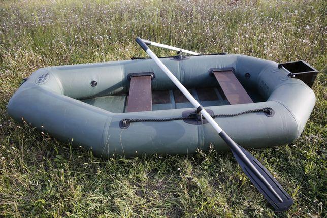 надувная лодка ПВХ Фишер с настилом и тра