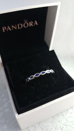 Anel Azul 56/16 Pandora Original