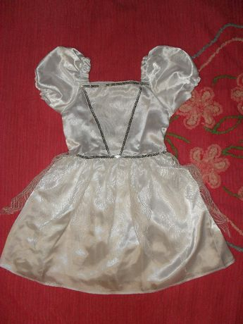 3-6 л новогодний карнавальный костюм платье снежинка снегурочка лебедь