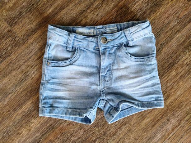 Джинсовые шорты, 3 г