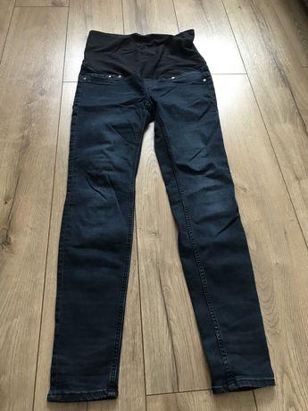 Spodnie ciążowe jeansy rozmiar M 38 HM Mama super skinny