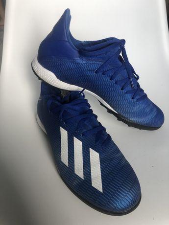 Сороконожки(бутси) Adidas X 19.3 TF EG7155 р. UK 9 синий, 43й розмір