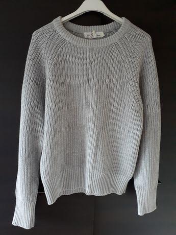Sweter szary h&m r. S