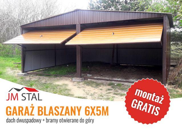 Garaż Blaszany Dwustanowiskowy 6x5m , Hale , Wiaty , Magazyny , inne