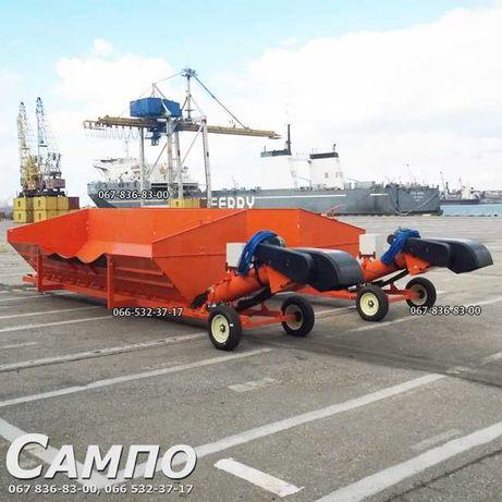 Ленточный конвейер, транспортер, завальная яма BATCO Kamaz Pitstop