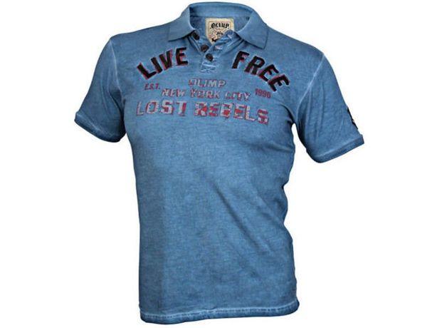 Super OLIMP LIVE & FIGHT Men s Polo LIVE Free