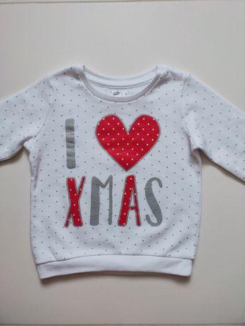 Bluza świąteczna Pepco 92 super stan