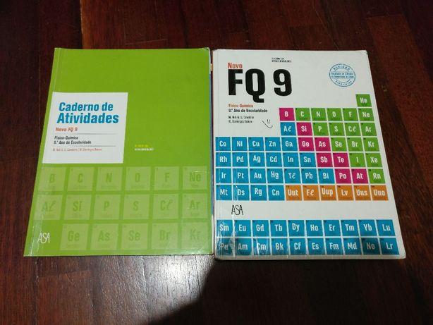 Livros de Fisico Quimica do 9 Ano