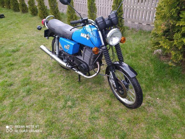 Motocykl MZ ETZ 250, zabytek, weteran szos,