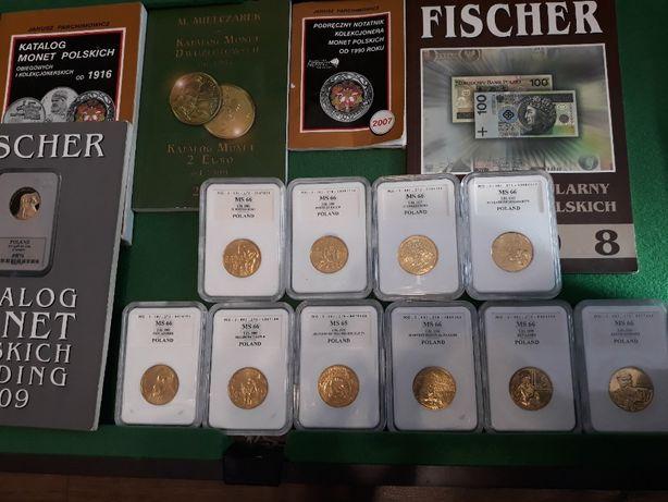Monety 2zł w gradingu PCG od 1997 do 2004