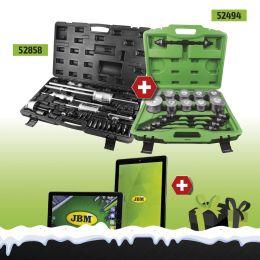 "Estractor Injectores + Extractor Rolamentos / Casquilhos + TABLET 10"""