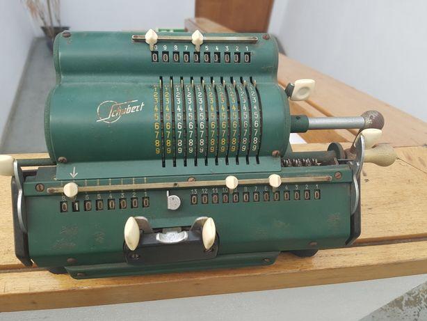 Maquina calcular anos 50 Schubert, artigo raríssimo de coleção